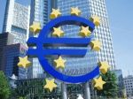 Euro sign surrounded by stars