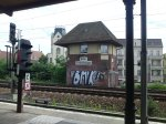 view from a train station in berlin