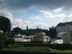 View of Kopenick castle from breakfast
